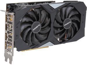 GIGABYTE GeForce GTX 1660 DirectX 12 GV-N1660OC-6GD 6GB 192-Bit GDDR5 PCI Express 3.0 x16 ATX Video Card
