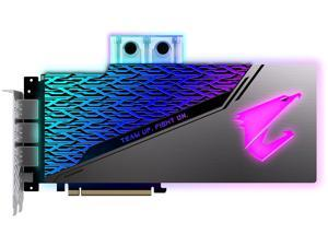 GIGABYTE AORUS GeForce RTX 2080 SUPER DirectX 12 GV-N208SAORUS WB-8GC 8GB 256-Bit GDDR6 PCI Express 3.0 x16 SLI Support ATX Video Card