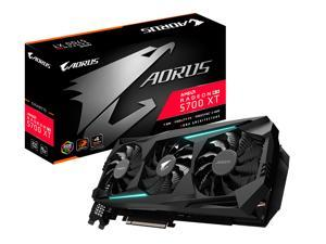 GIGABYTE AORUS Radeon RX 5700 XT 8G Graphics Card, PCIe 4.0, 8GB 256-Bit GDDR6, GV-R57XTAORUS-8GD Video Card