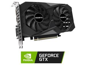 GIGABYTE GeForce GTX 1650 DirectX 12 GV-N1656WF2OC-4GD 4GB 128-Bit GDDR6 PCI Express 3.0 x16 ATX Video Card