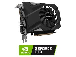 GIGABYTE GeForce GTX 1650 DirectX 12 GV-N1656OC-4GD 4GB 128-Bit GDDR6 PCI Express 3.0 x16 mini-ITX Video Card
