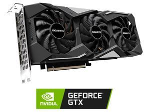 GIGABYTE GeForce GTX 1660 SUPER DirectX 12 GV-N166SGAMING-6GD 6GB 192-Bit GDDR6 PCI Express 3.0 x16 ATX Video Card