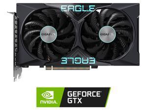 GIGABYTE GeForce GTX 1650 DirectX 12 GV-N1656EAGLE OC-4GD 4GB 128-Bit GDDR6 PCI Express 3.0 x16 ATX Video Card