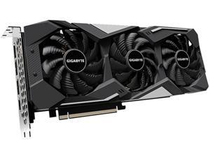 GIGABYTE Radeon RX 5600 XT DirectX 12 GV-R56XTGAMING OC-6GD 6GB 192-Bit GDDR6 PCI Express 4.0 x16 ATX Video Card