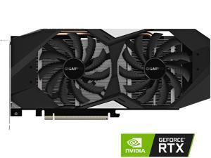 GIGABYTE GeForce RTX 2070 8GB GDDR6 PCI Express 3.0 x16 ATX Video Card GV-N2070WF2-8GD