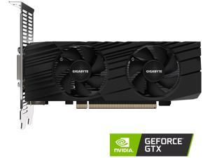 GIGABYTE GeForce GTX 1650 DirectX 12 GV-N1656D6-4GL 4GB 128-Bit GDDR6 PCI Express 3.0 x16 Low Profile Ready Video Card