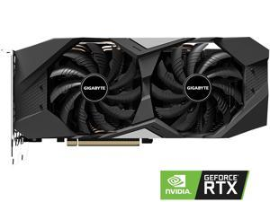 GIGABYTE GeForce RTX 2060 SUPER DirectX 12 GV-N206SWF2-8GD 8GB 256-Bit GDDR6 PCI Express 3.0 x16 ATX Video Card