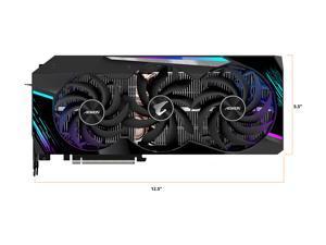 GIGABYTE AORUS GeForce RTX 3090 MASTER 24GB Video Card, GV-N3090AORUS M-24GD
