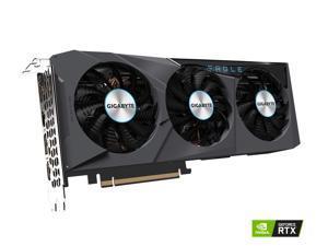 GIGABYTE GeForce RTX 3070 DirectX 12 GV-N3070EAGLE OC-8GD 8GB 256-Bit GDDR6 PCI Express 4.0 x16 ATX Video Card