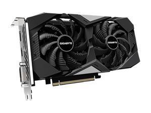 GIGABYTE GeForce GTX 1650 SUPER DirectX 12 GV-N165SWF2OC-4GD 4GB 128-Bit GDDR6 PCI Express 3.0 x16 ATX Video Card