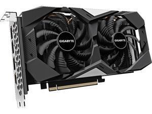 GIGABYTE Radeon RX 5600 XT DirectX 12 GV-R56XTWF2OC-6GD 6GB 192-Bit GDDR6 PCI Express 4.0 x16 ATX Video Card