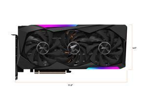 GIGABYTE AORUS GeForce RTX 3070 MASTER 8GB Video Card, GV-N3070AORUS M-8GD