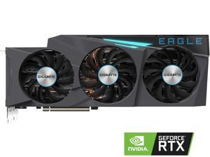GIGABYTE GeForce RTX 3080 DirectX 12 GV-N3080EAGLE-10GD 10GB 320-Bit GDDR6X PCI Express 4.0 x16 ATX Video Card