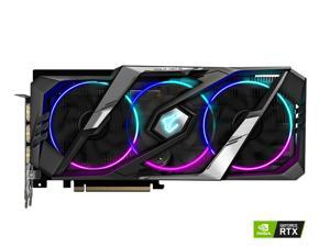 GIGABYTE AORUS GeForce RTX 2060 SUPER 8G (rev. 2.0) Graphics Card, 3 x WINDFORCE Stack Fans, 8GB 256-Bit GDDR6, GV-N206SAORUS-8GC REV2.0 Video Card