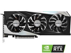 GIGABYTE GeForce RTX 3060 Ti DirectX 12 GV-N306TGAMING OC-8GD 8GB 256-Bit GDDR6 PCI Express 4.0 x16 ATX Video Card