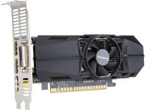 GIGABYTE GeForce GTX 1050 DirectX 12 GV-N1050OC-3GL 3GB 96-Bit GDDR5 PCI Express 3.0 x16 Low Profile Video Card