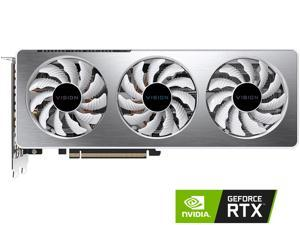 GIGABYTE GeForce RTX 3060 Ti VISION OC 8G Graphics Card, WINDFORCE 3X Cooling System, 8GB 256-bit GDDR6, GV-N306TVISION OC-8GD Video Card