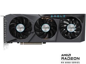 GIGABYTE Radeon RX 6600 XT EAGLE 8G Graphics Card, WINDFORCE 3X Cooling System, 8GB 128-bit GDDR6, GV-R66XTEAGLE-8GD Video Card