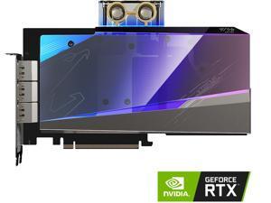 GIGABYTE AORUS GeForce RTX 3080 XTREME WATERFORCE WB 10G (rev. 2.0) Graphics Card, WATERFORCE Water Block Cooling System, 10GB 320-bit GDDR6X, GV-N3080AORUSX WB-10GD Rev2.0 Video Card (LHR)