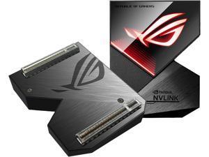 ASUS ROG GeForce RTX NVLink Bridge with Aura Sync RGB, 4 Slot