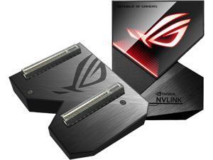 ASUS ROG GeForce RTX NVLink Bridge with Aura Sync RGB, 3 Slot
