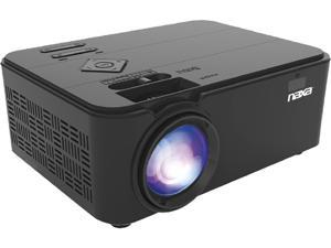 "Naxa NVP-1000 150"" Home Theater LCD Projector - 15:9 - Black - 800 x 480 - Front - 20000 Hour Bulb Life"