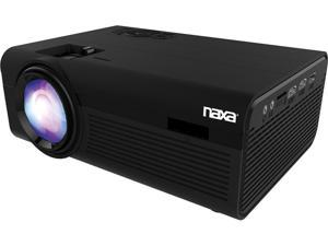"Naxa NVP-2000 150"" Home Theater 720P LCD Projector - 16:9 - Black - 1280 x 720 - Front - 20000 Hour Normal Bulb Life"