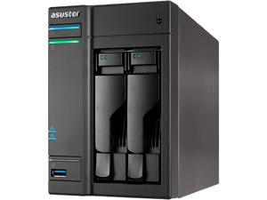 Asustor AS6302T A Comprehensive 2 Bay NAS Equipped With Intel Celeron (Apollo Lake) Dual-core Processor