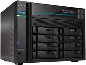Asustor AS6508T Lockerstor 8 Enterprise 2.1GHz Quad-Core 8-Bay Diskless NAS