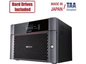 Buffalo TeraStation 5810DN Desktop 32TB (4x8TB) NAS - Hard Drives Included (TS5810DN3204)