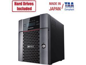 Buffalo Terastation 5410Dn Desktop 32 Tb Nas Hard Drives Included
