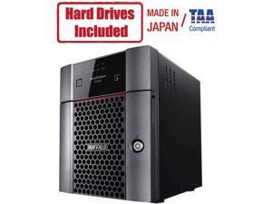 Buffalo TeraStation 3420DN 8TB NAS Hard Drives Included (4 x 2TB, 4 Bay)