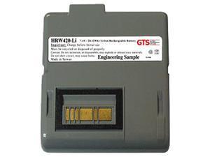 GTS HRW420-LI direct replament battery for Zebra RW420 series scanners (OEM Equivalent# AK17463-005)