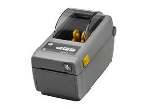 "Zebra ZD410d 2"" Desktop Direct Thermal Label Printer, 203 dpi, USB, USB Host, Bluetooth LE, Ethernet Module, EZPL - ZD41022-D01E00EZ"