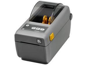 "Zebra ZD410d 2"" Desktop Direct Thermal Label Printer, 203 dpi, USB, USB Host, Bluetooth LE, 802.11ac and Bluetooth 4.0, EZPL - ZD41022-D01W01EZ"