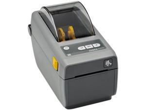 "Zebra ZD410d 2"" Desktop Direct Thermal Label Printer, 203 dpi, USB, USB Host, Bluetooth LE, EZPL - ZD41022-D01M00EZ"
