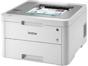 Brother Printer 19 ppm 250-Sheet Capacity Wireless White/Gray HLL3210CW