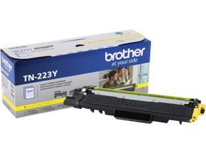 Brother International - TN223Y - Brother Genuine TN-223Y Standard Yield Yellow Toner Cartridge - Laser - Standard Yield