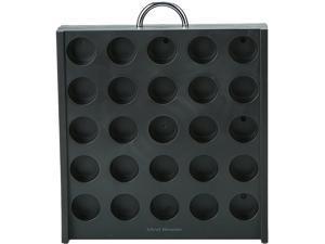 Mind Reader 50 Capacity K-Cup Single Serve Coffee Pod Holder Storage Organizer, Black RAC3PC-BLK