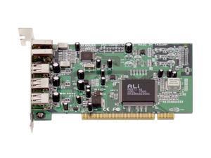 IOGEAR Hi-Speed USB 2.0 / FireWire Combo PCI Card Model GUF320