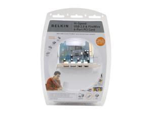 BELKIN PCI to USB/1394 Card Model F5U508