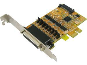 SUNIX 4-port RS-232 PCI Express Serial Board with Power Output (SATA Power Socket) Model SER6456S+L