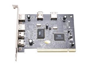 SYBA PCI USB 2.0 & 1394a combo card Model SY-VIA-COM