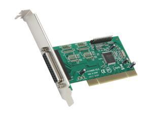 SYBA 2 Port Parallel DB25 PCI 2.1 32 Bit Card SY-PCI10002