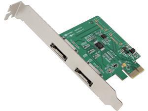 SYBA 2 eSATA Ports SATA III PCI-e Controller Card Model SI-PEX40076