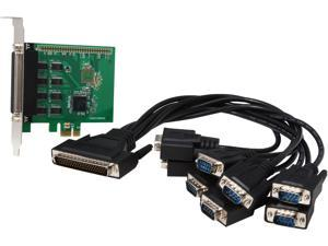 SYBA 8-Port RS-232 Serial PCI-Express, Revision 2.0; with Exar Chipset Model SI-PEX15041