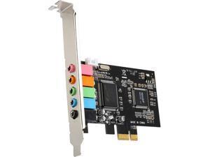 SYBA 5.1 Channel PCI-e x1 Sound Card Model SI-PEX63096
