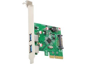 SYBA 2 Port USB3.1Type-A PCI-E 3.0 x4 Model SD-PEX20185