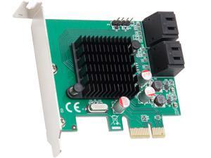 SYBA 4 Port SATA III PCI-E 2.0 x1 Model SD-PEX40099