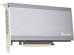 SYBA Dual M.2 NVMe Ports to PCIe 3.0 x16 Bifurcation Riser Controller - Support Non-BiFurcation Motherboard, SI-PEX40129